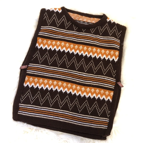 Vintage Other - Vintage Middle Eastern Made Child Wool Poncho